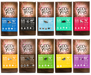 Giddy Yoyo Chocolates and Superfoods