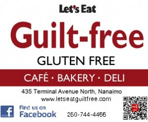 Celiac Awareness Lunch @ Let's Eat Guilt Free | Nanaimo | British Columbia | Canada