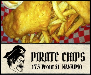 Kids Under 8 Eat Free @ Pirate Chips | Nanaimo | British Columbia | Canada