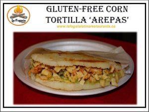 Arepas - Gluten-Free Corn Tortilla