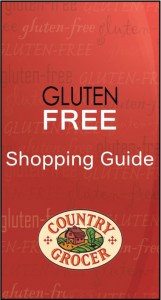 Country Grocer Gluten Free Shopping Guide
