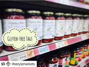 Lifestyle Markets Gluten-Free Shelf Tags