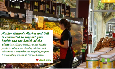 7% Student & Senior Discount @ Mother Nature's Market & Deli