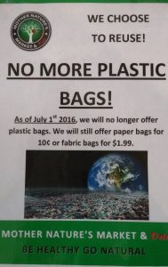 Mother Nature's Plastic Bags