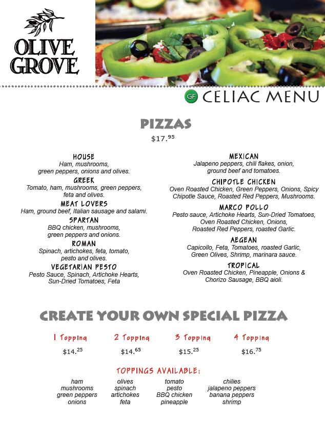 gluten free celiac pizza