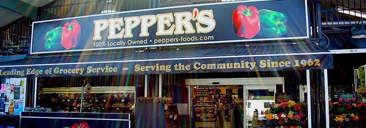Pepper's Foods Banner