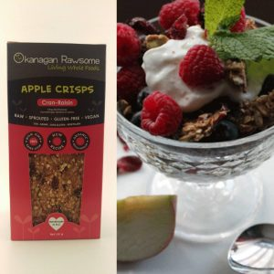Cran Raisin Apple Crisps