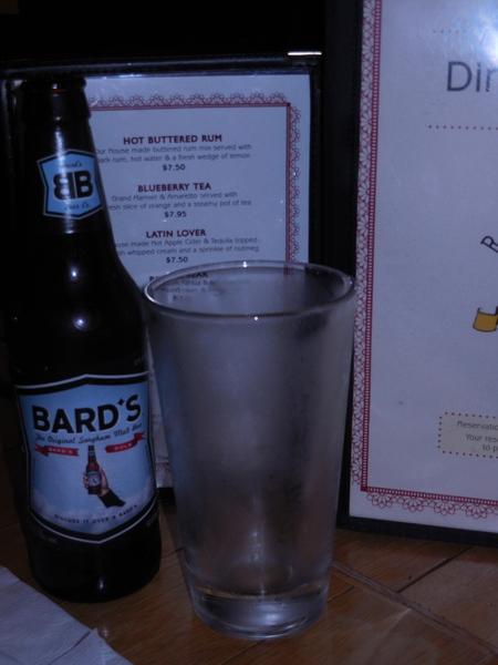 Gluten-Free bard's beer
