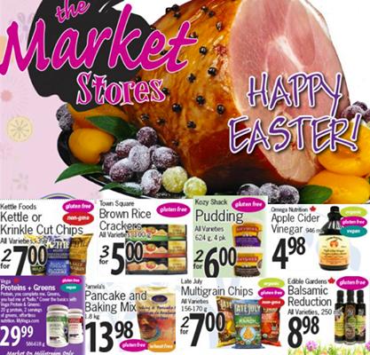 Market Store Gluten Free sale 2015APR1/7
