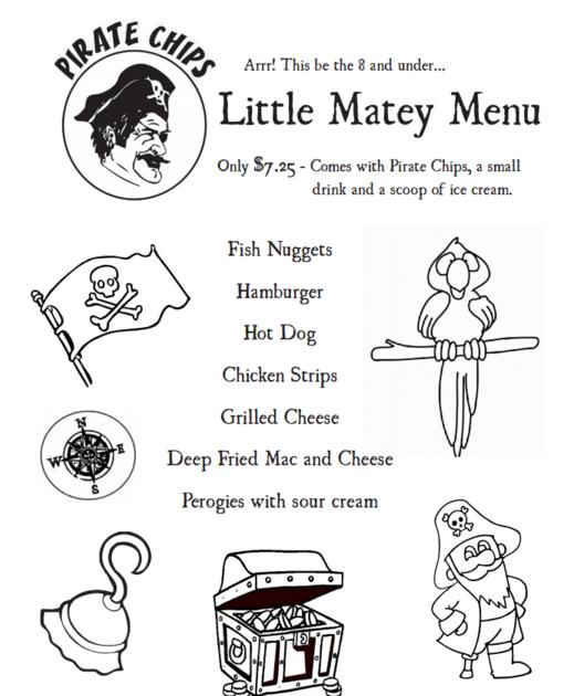 gluten free kids menu