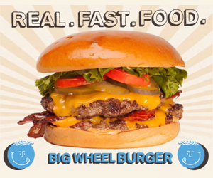 Big Wheel Burger Logo 300 x 250