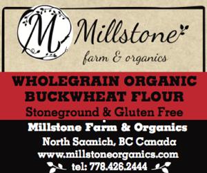 Freshly-Milled Gluten-Free Flours @ Sidney Street Market | Sidney | British Columbia | Canada