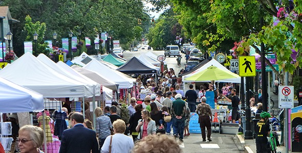 Oak Bay Summer Market