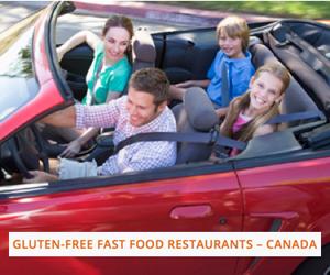 Gluten Free Fast Food Canada