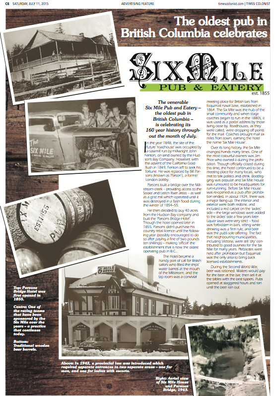 Six Mile Pub Page 1