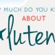 Gluten Quiz