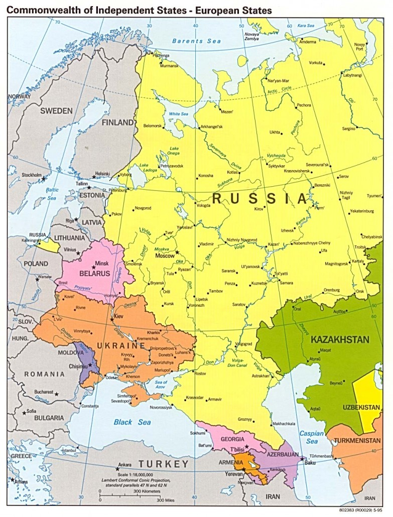Russia Former Soviet Republics
