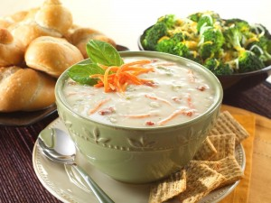 vegetable rice soup