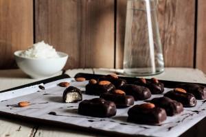 gluten free almond-joy-candy-bars