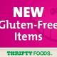gluten free grocery list