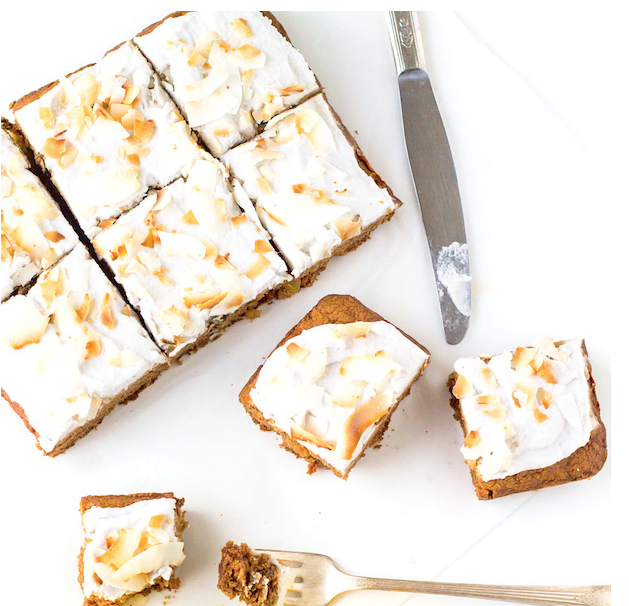 tigernut carrot cake