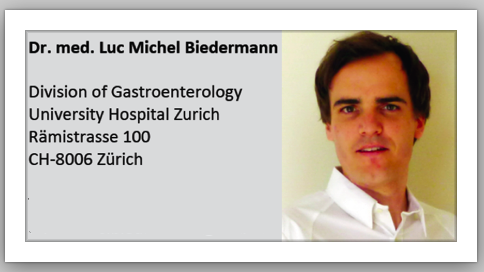 Luc Biederman Gastroenterologist