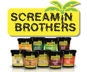 Screamin Brothers Dairy-Free Frozen Treats