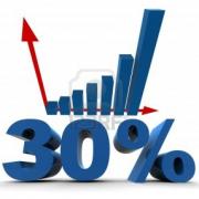 30% Increase