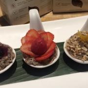black quinoa pudding