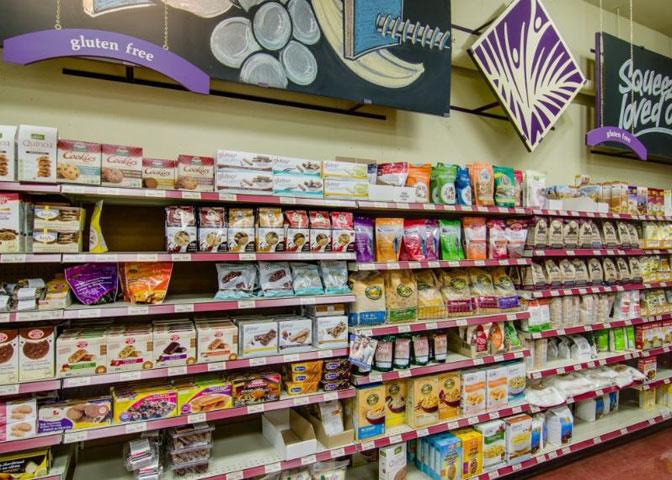 gluten free department lifestyle markets