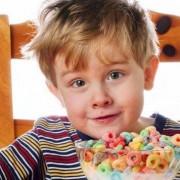 Child cereal milk