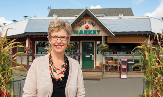 Deep Cove Market, near Sidney BC