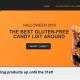 2015 Gluten free halloween candy united states