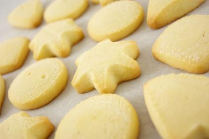 Gluten-free shortbread-cookies
