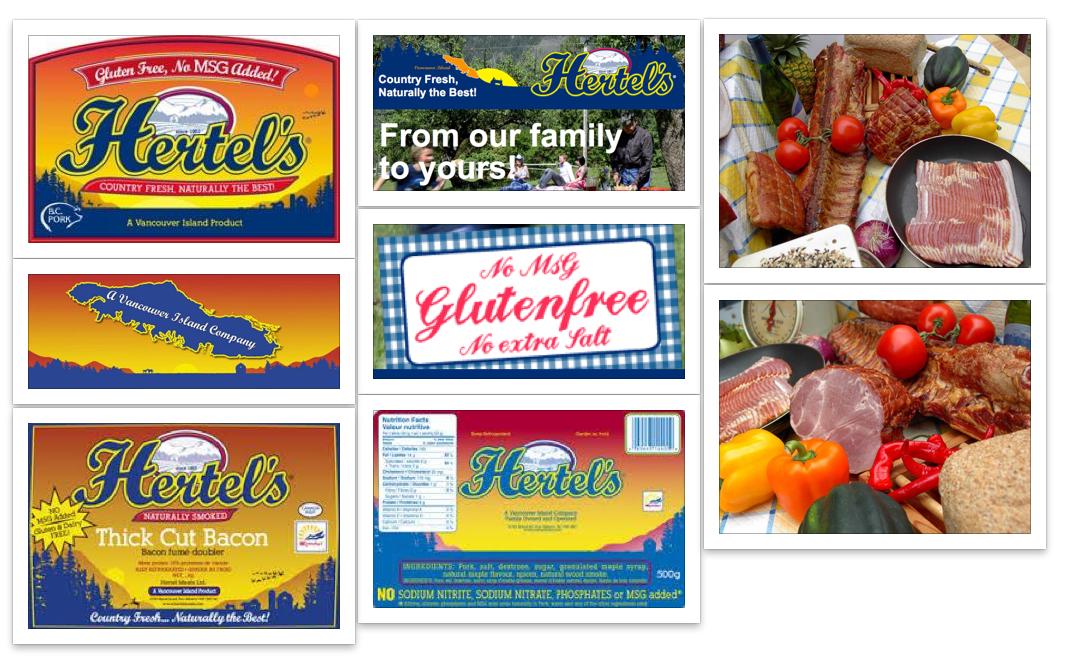 Hertel's preservative Free Meats