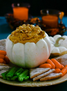 Gluten Free Pumpkin Hummus