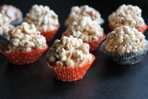 Gluten Free Salted Caramel Popcorn Balls