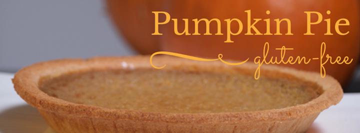 Wendel's gluten free pumpkin pie