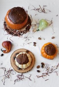 Bake a Cake Inside a Pumpkin