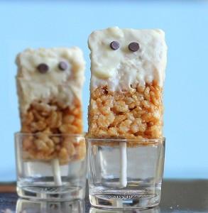 gluten free recipe rice-krispy-ghosts