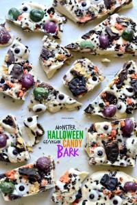 gluten free recipe monster candy bark