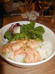 gluten free prawn bowl