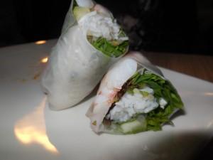 gluten free prawn spring rolls 2
