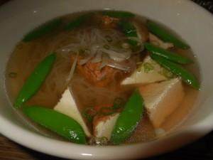 gluten free rice noodle soup 2