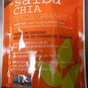 CFIA Food Recall Chia