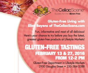 Gluten Free Tasting Lifestyle Markets