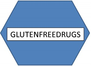 Gluten free drugs