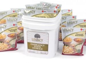 Legacy gluten free meals