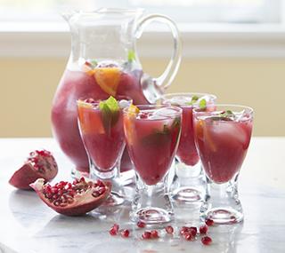 Sparkling Pomegranate Sangria