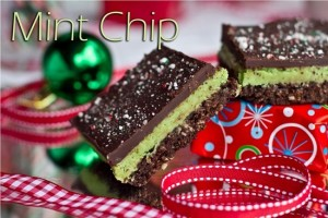 mint chip nanaimo bars